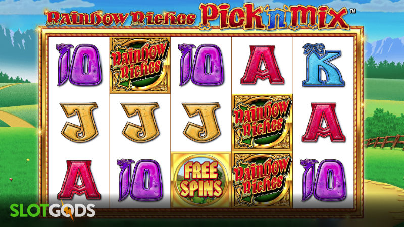 Rainbow Riches Pick N Mix Online Slot by Barcrest Screenshot 1