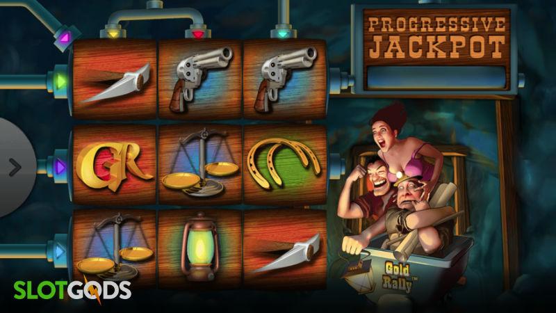 Gold Rally Online Slot by Playtech Screenshot 1