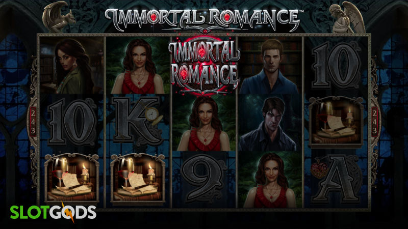 Immortal Romance Online Slot by Microgaming Screenshot 1