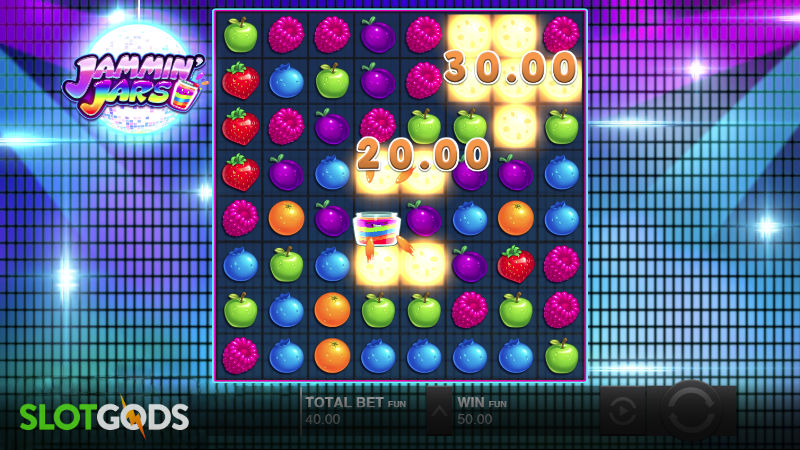 Jammin Jars Online Slot by Push Gaming Screenshot 1