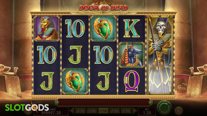 Cat Wilde And The Doom Of Dead Online Slot By Play'n GO