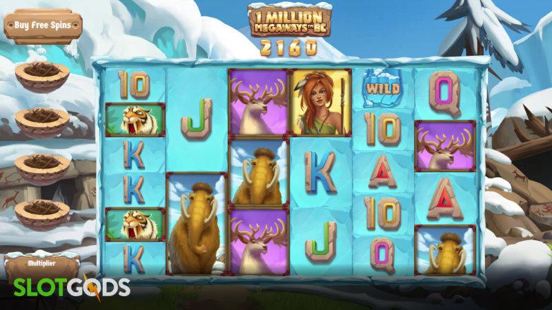1 Million Megaways BC Online Slot by Iron Dog Studio Screenshot 1