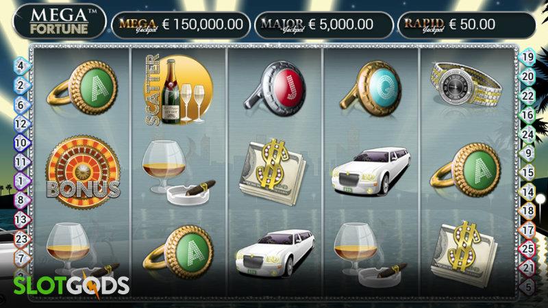 Mega Fortune Online Slot By NetEnt Screenshot 1