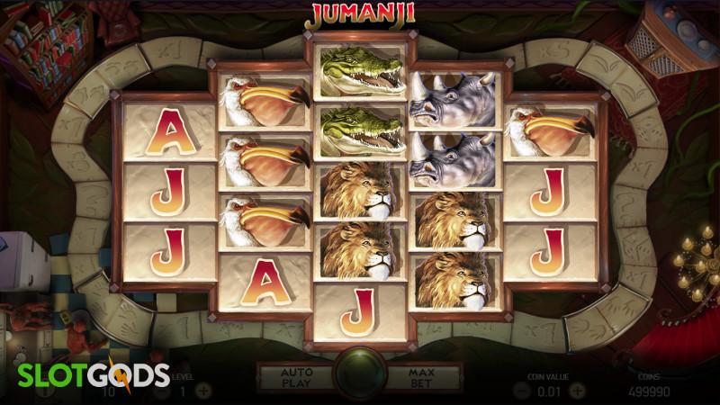 Jumanji Online Slot By NetEnt Screenshot 1