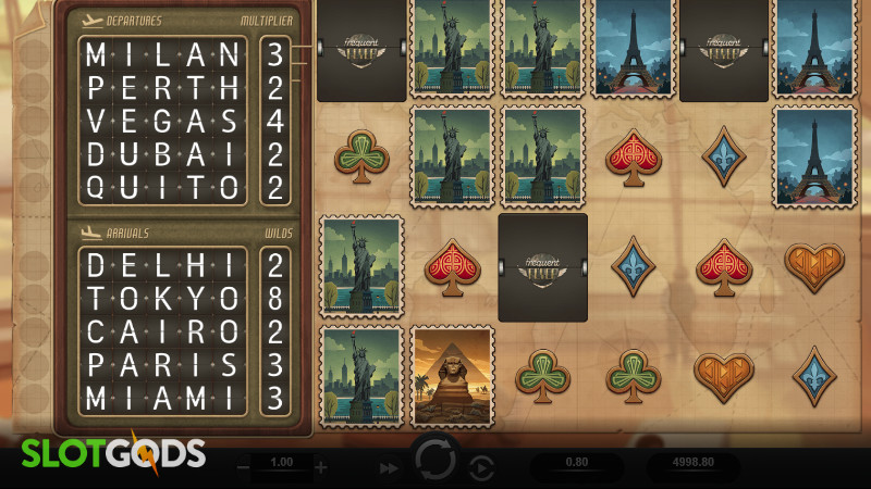 Frequent Flyer Online Slot By Relax Gaming Screenshot 1