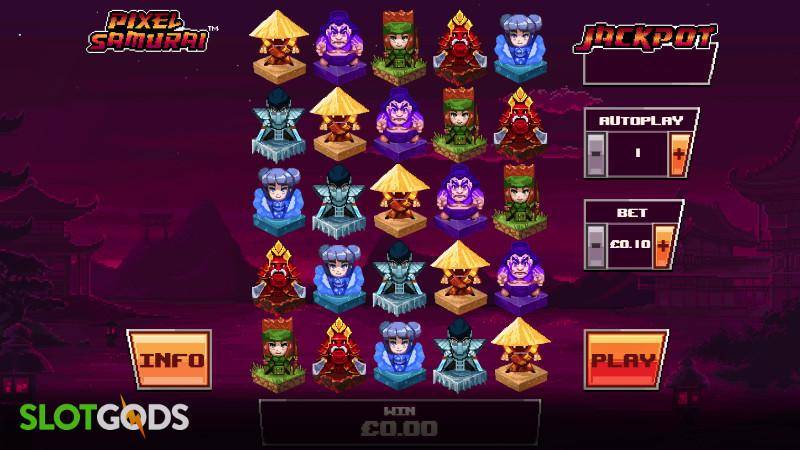 Pixel Samurai Online Slot By Playtech Screenshot 1