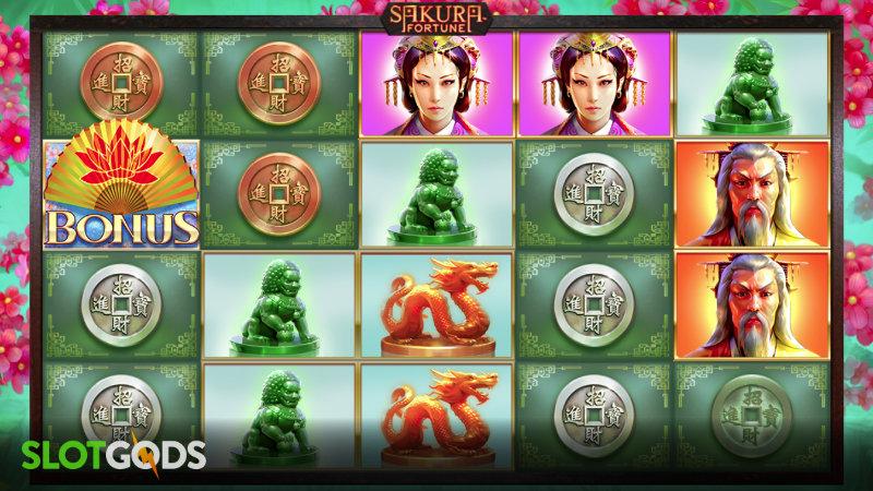 Sakura Fortune Online Slot By Quickspin Screenshot 1