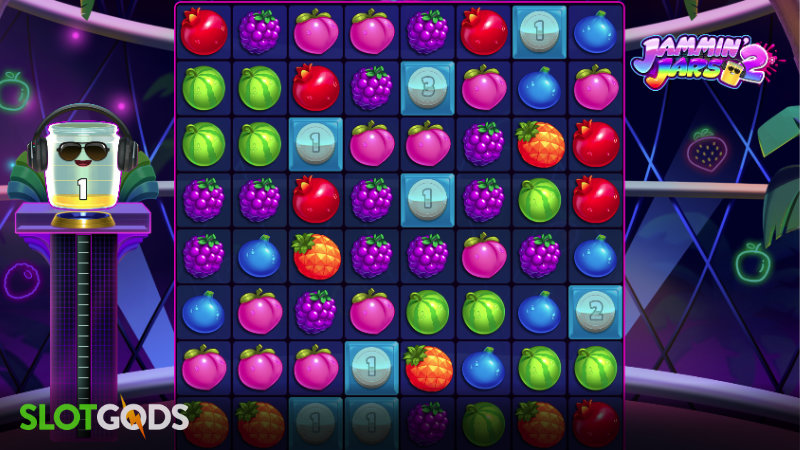 Jammin Jars 2 Online Slot by Push Gaming Screenshot 1