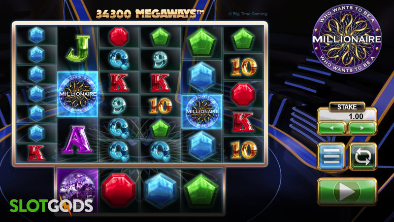 Who Wants to be a Millionaire Megaways Online Slot by Big Time Gaming Screenshot 1