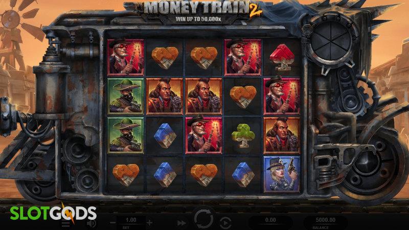 Money Train 2 Online Slot by Relax Gaming Screenshot 1