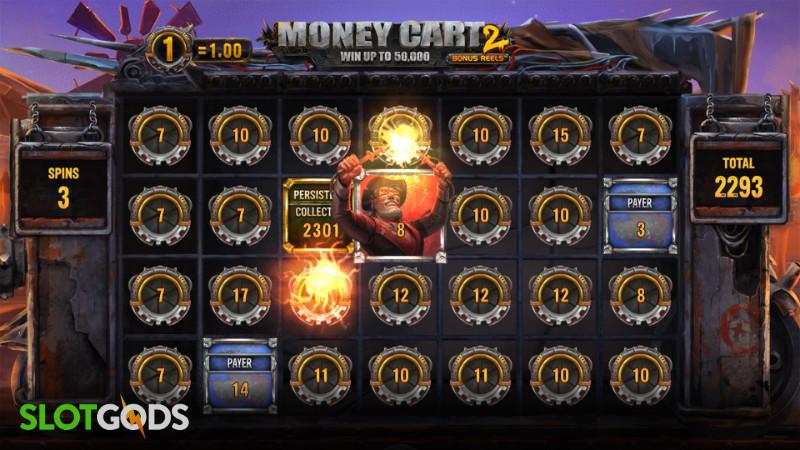 Money Cart 2 Online Slot by Relax Gaming Screenshot 3