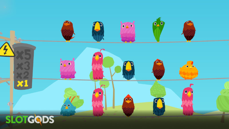 Birds On A Wire Online Slot By Thunderkick Screenshot 1