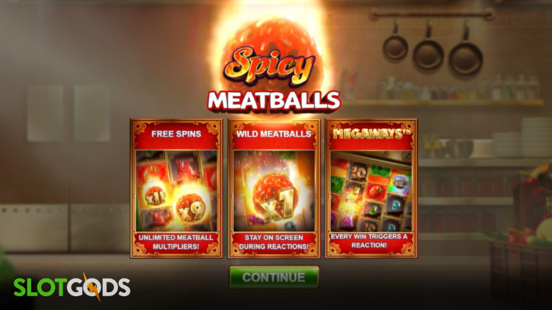 Spicy Meatballs Megaways Online Slot by Big Time Gaming Screenshot 3