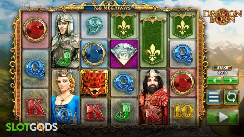 Dragon Born Online Slot by Big Time Gaming Screenshot 1