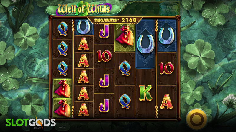 Well of Wilds Megaways Online Slot by Red Tiger Gaming Screenshot 1