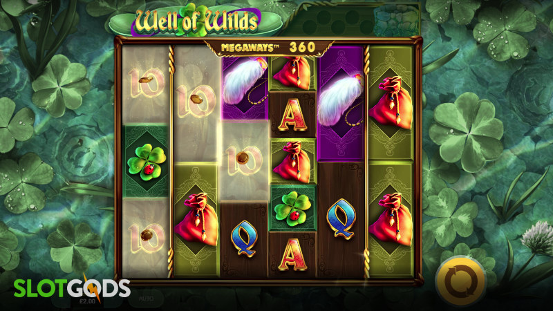 Well of Wilds Megaways Online Slot by Red Tiger Gaming Screenshot 2