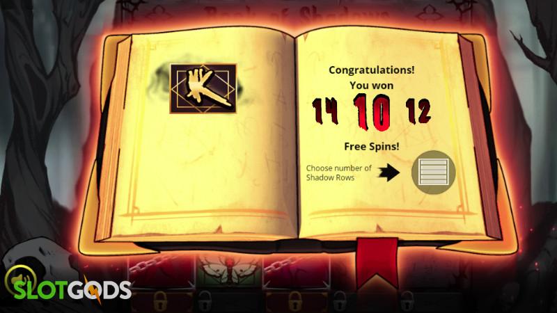 Book of Shadows Online Slot by Nolimit City Screenshot 2