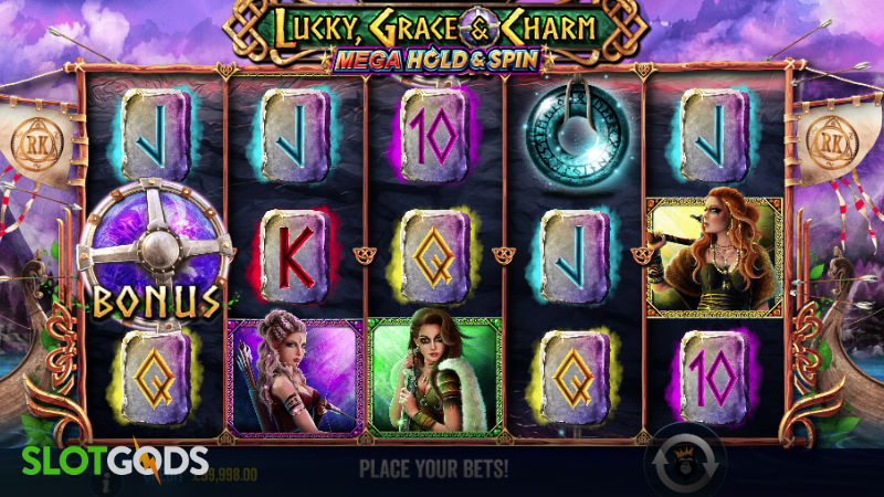 Lucky Grace and Charm Mega Hold & Spin Online Slot by Pragmatic Play Screenshot 1