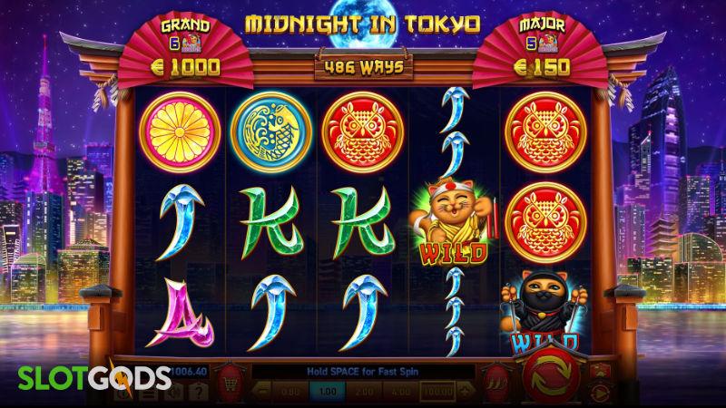 Midnight in Tokyo Online Slot by Wazdan Screenshot 1