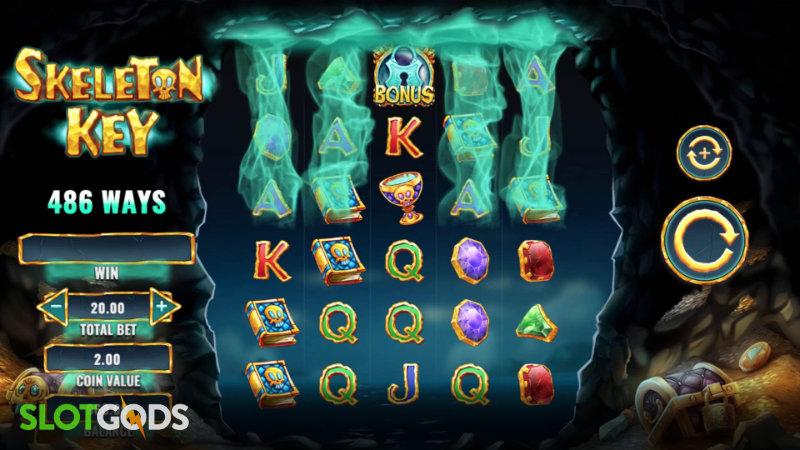 Skeleton Key Online Slot by IGT Screenshot 1