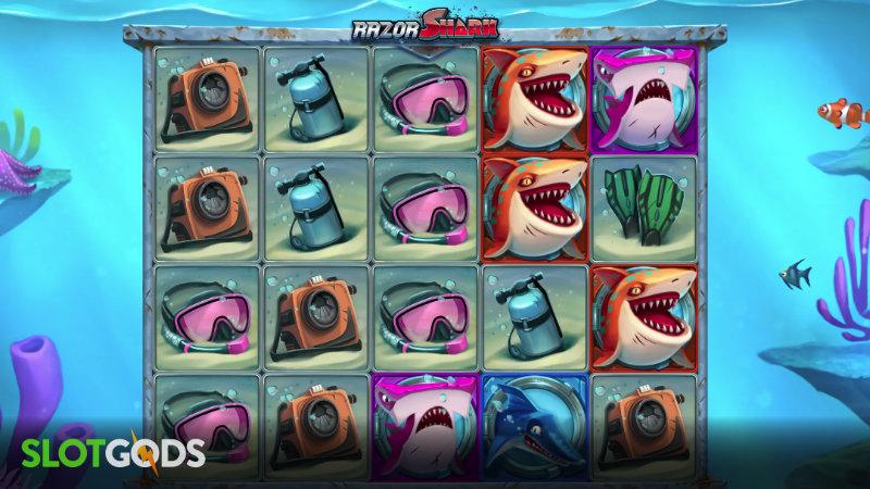 Razor Shark Online Slot by Push Gaming Screenshot 1