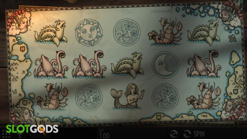 1429 Uncharted Seas Online Slot by Thunderkick Screenshot 1