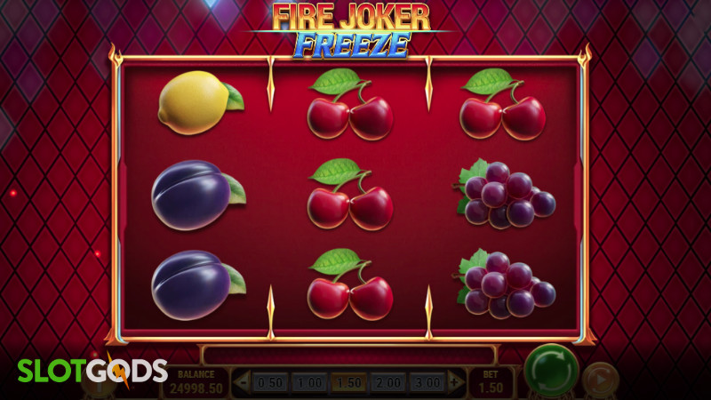 Fire Joker Freeze Online Slot by Playn GO Screenshot 1