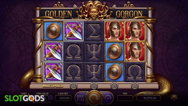 Golden Gorgon Online Slot by Yggdrasil Screenshot 1