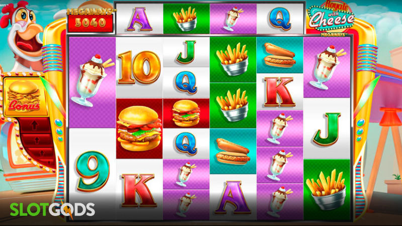 Royale with Cheese Megaways Online Slot by iSoftBet Screenshot 1