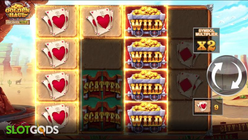 Golden Haul Infinity Reels Online Slot by Relax Gaming Screenshot 1