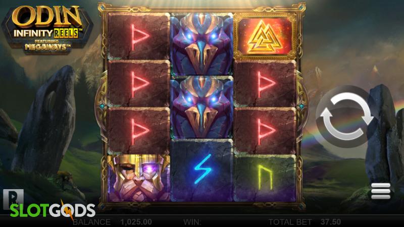 Odin Infinity Reels Megaways Online Slot by Reel Play Screenshot 1