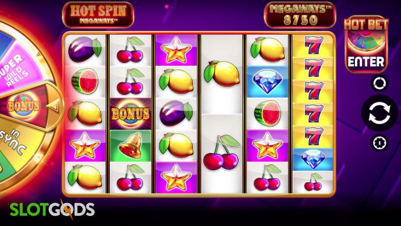 Hot Spin Megaways Online Slot by iSoftBet Screenshot 1