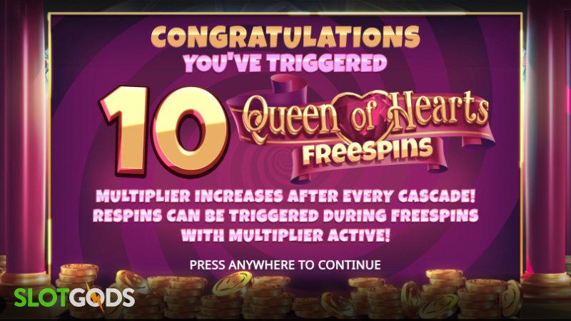 Queen of Wonderland Megaways Online Slot by iSoftBet Screenshot 2