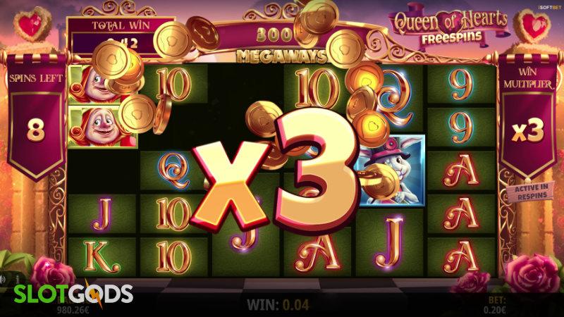 Queen of Wonderland Megaways Online Slot by iSoftBet Screenshot 1