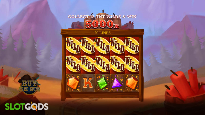 Big Boom Riches Online Slot by Just For The Win Screenshot 1