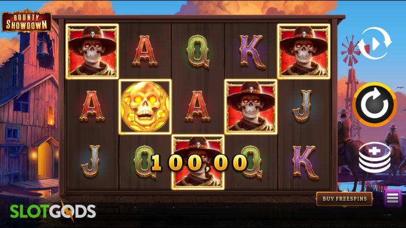 Bounty Showdown Online Slot by Relax Gaming Screenshot 1