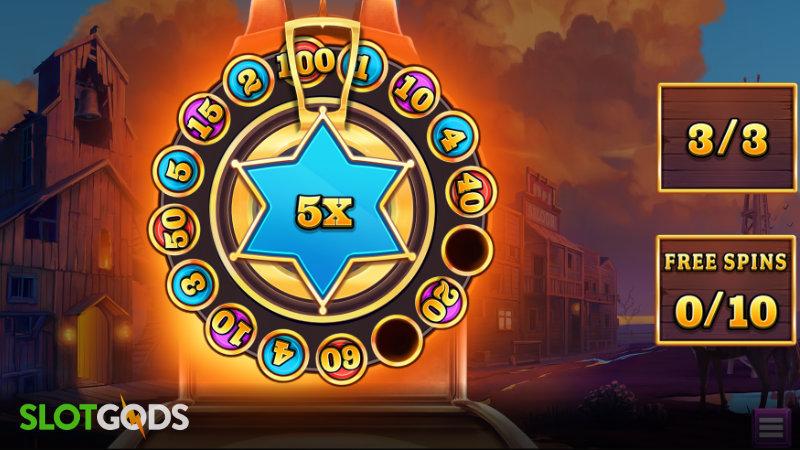 Bounty Showdown Online Slot by Relax Gaming Screenshot 2