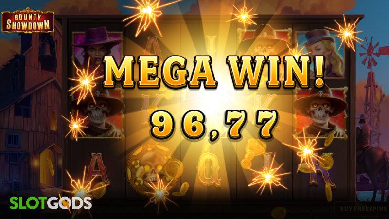 Bounty Showdown Online Slot by Relax Gaming Screenshot 3