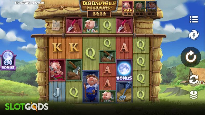 Big Bad Wolf Megaways Online Slot by Quickspin Screenshot 1