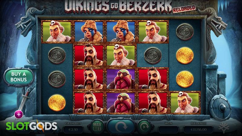 Vikings go Berzerk Reloaded Online Slot by Yggdrasil Screenshot 1