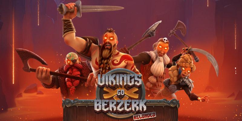Vikings go Berzerk Reloaded Online Slot by Yggdrasil Hero