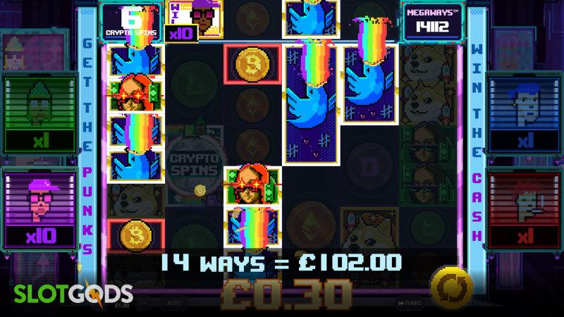 NFT Megaways Online Slot by Red Tiger Gaming Screenshot 1