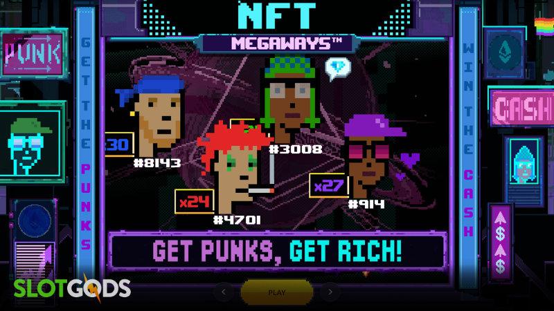 NFT Megaways Online Slot by Red Tiger Gaming Screenshot 2