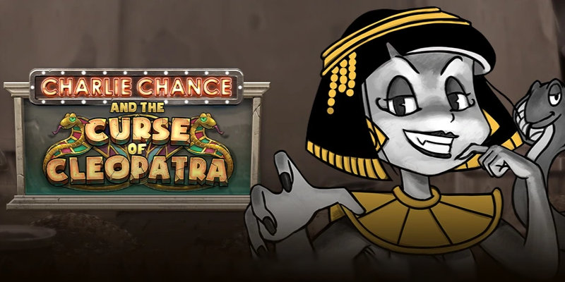 Charlie Chance and The Curse of Cleopatra Online Slot by Playn Go Hero