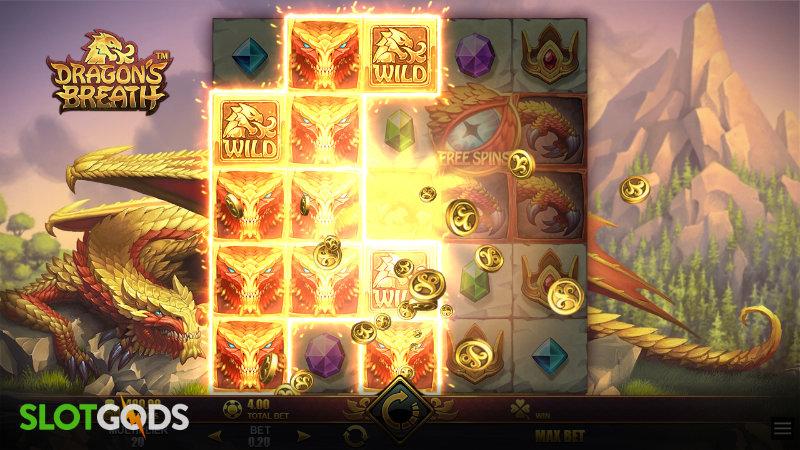 Dragons Breath Online Slot by Microgaming Screenshot 1