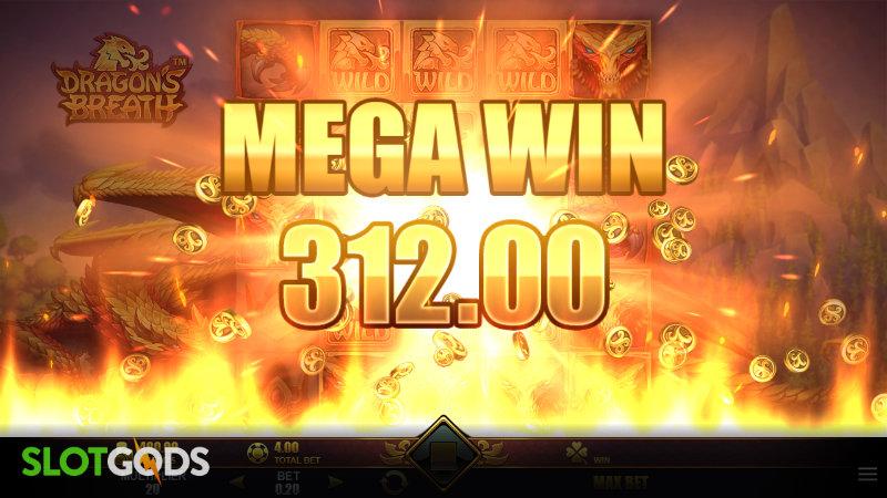 Dragons Breath Online Slot by Microgaming Screenshot 2