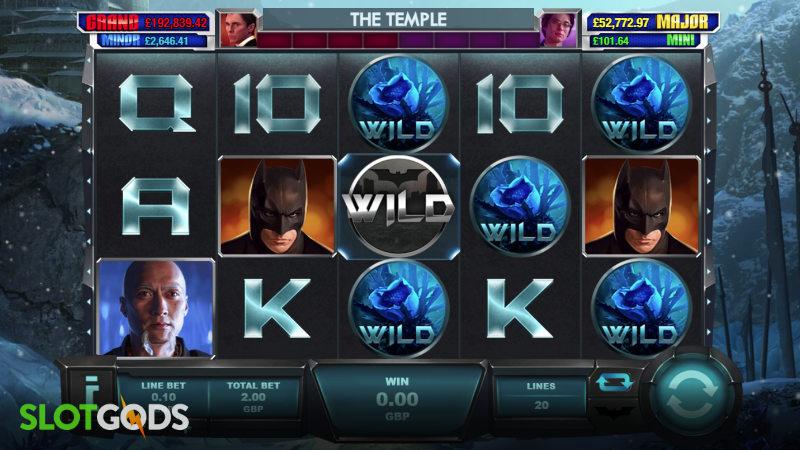 Batman Begins Online Slot by Playtech Screenshot 1