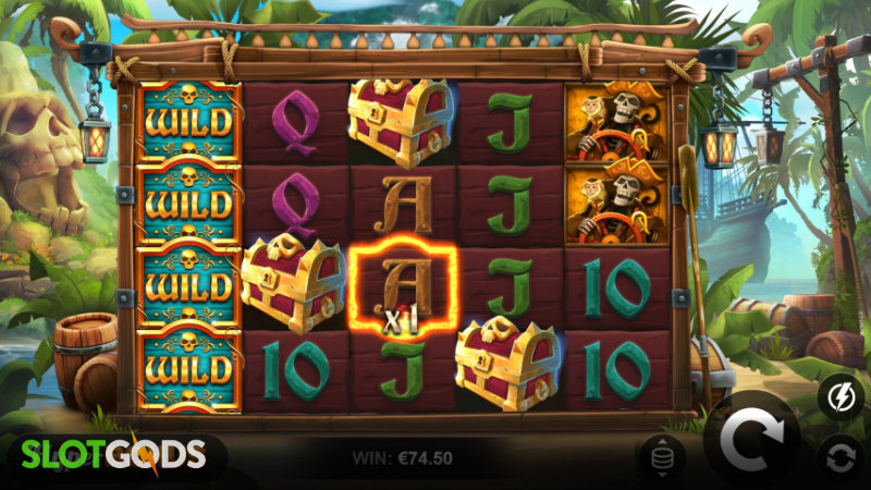 Caribbean Anne 2 Online Slot by Relax Gaming Screenshot 1