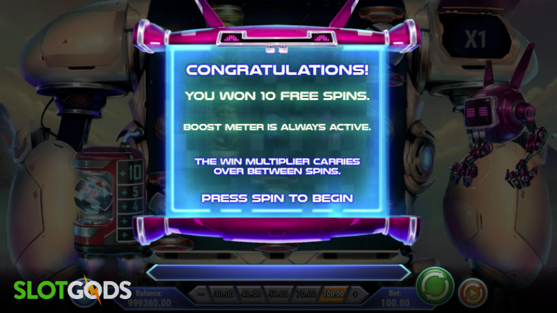 Sparky and Shortz Online Slot by Playn GO Screenshot 2