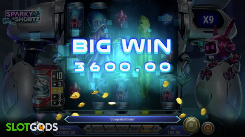 Sparky and Shortz Online Slot by Playn GO Screenshot 3